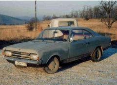 Opel Rekord Coupé - Rtomi