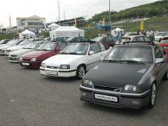 Opel Legendák Találkozása a Hungaroringen 2013. május 11-én