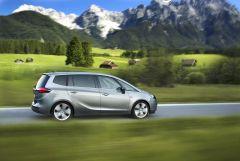 Opel Zafira Tourer, 120 lóerős dízellel