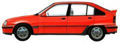 Opel Kadett GSi 1985