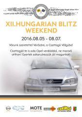 Csattogó-völgyi Opel találkozó, Verőce.