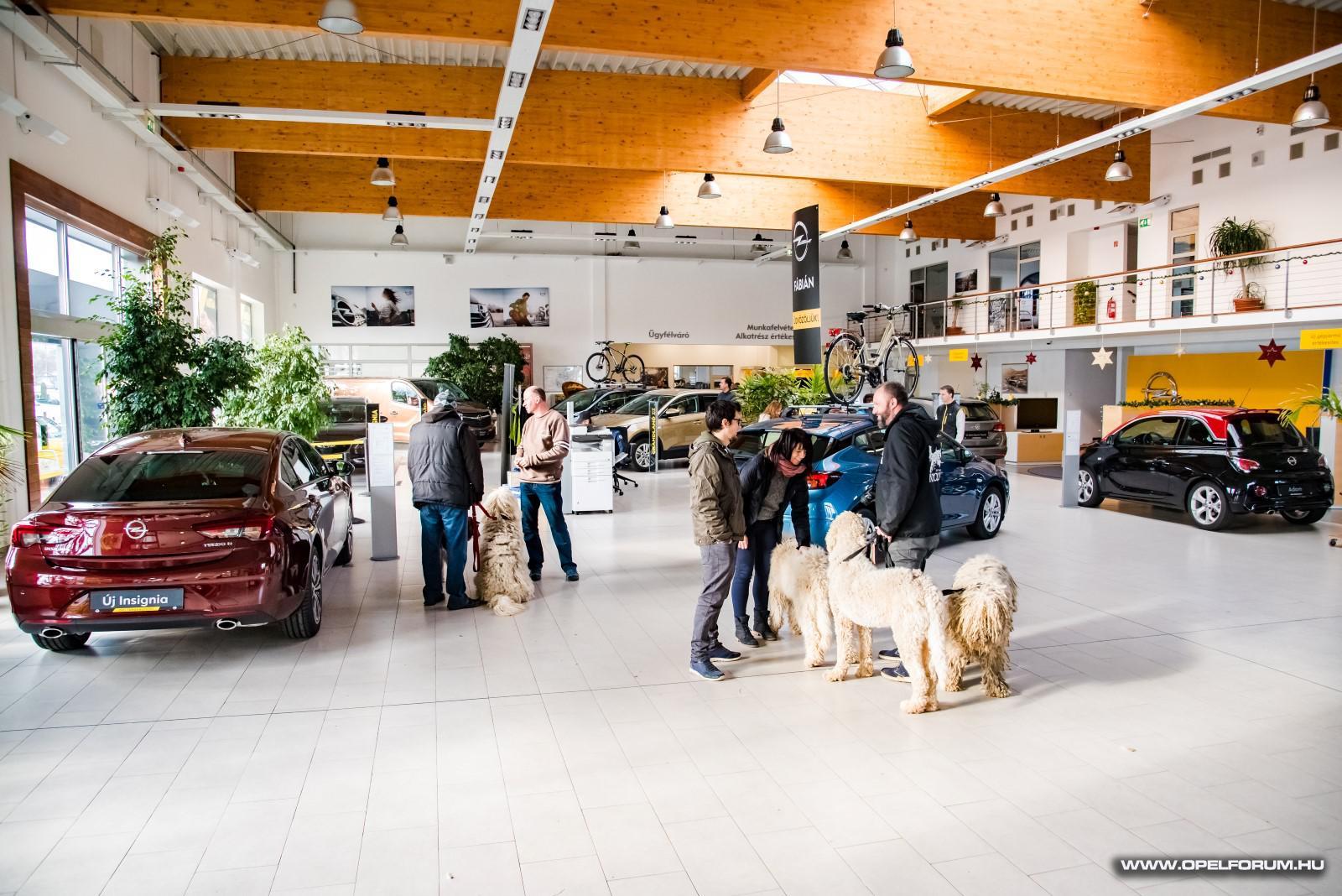 MOTE karácsony, Opel találkozó az Opel Fábiánban
