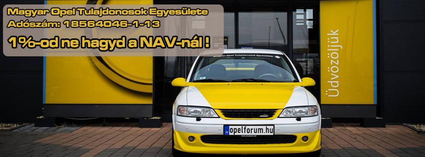 Támogasd adódból a Magyar Opel Tulajdonosok Egyesületét!