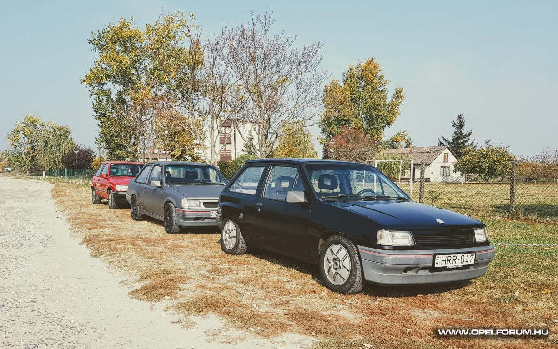 Autók és Kávé Szfvár '18 ősz