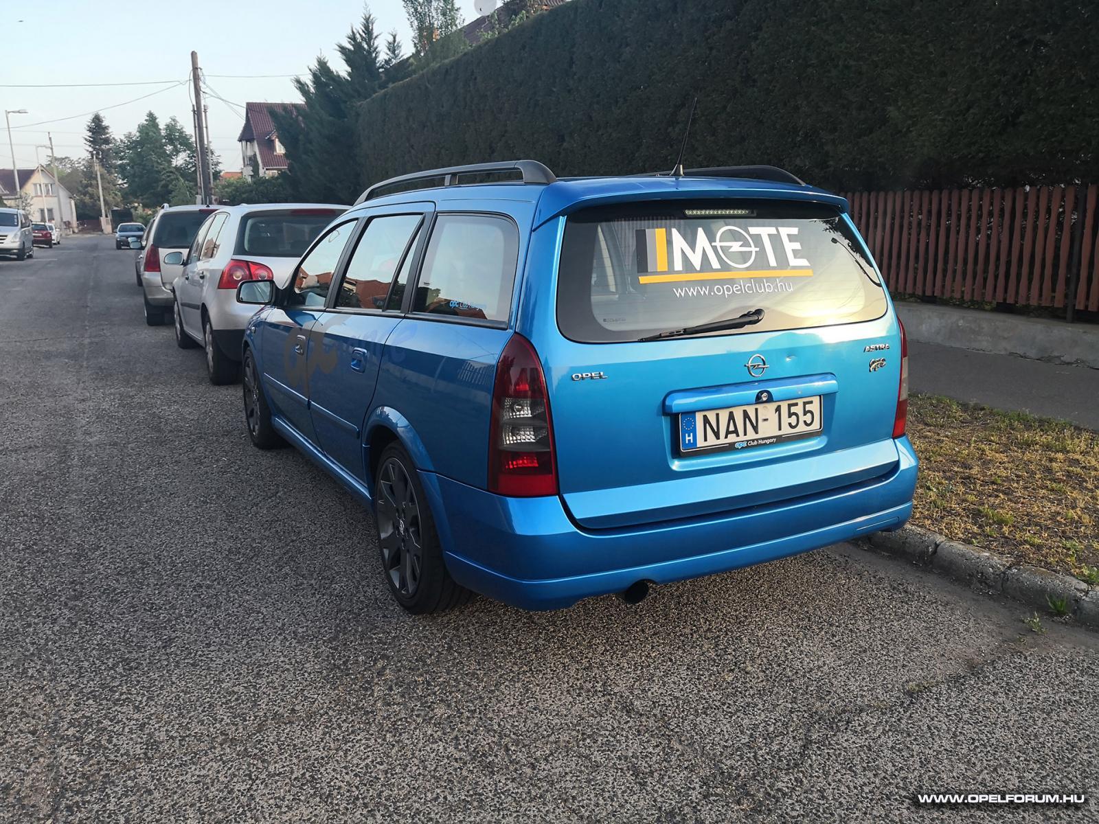Zoli és az OPC - Ardenblau G Astra OPC Caravan