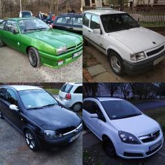 Green lightning azaz Zöld Villám - Opel Manta B, Corsa A, Corsa C, Zafira B