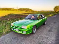 Green lightning azaz Zöld Villám - Opel Manta B